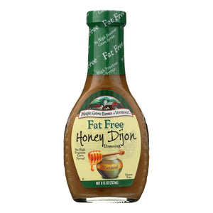 Maple Grove Farms Fat Free Honey Dijon Dressings - 8 oz.