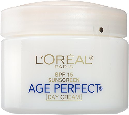 L'Oreal Paris Skincare Age Perfect Day Cream, Anti-Aging Face Moisturizer With Spf 15 And Soy Seed Proteins, 2.5 Oz.