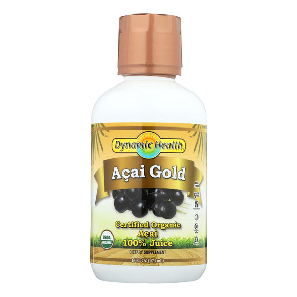 Dynamic Health Organic Acai Gold - 16 fl oz