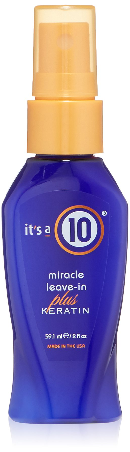 Miracle Leave In Plus Keratin by Its A 10 for Unisex - 2 oz Spray