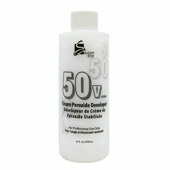 Superstar 50 Volume Cream Peroxide Developer 8 Fl Oz