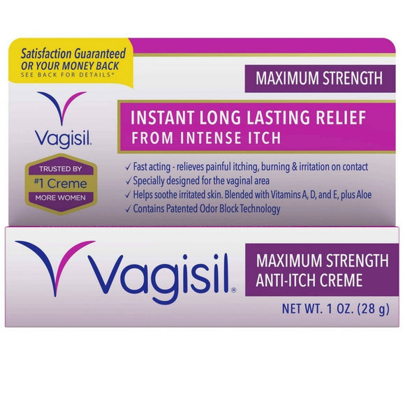 Vagisil Max/Strength 1 Oz