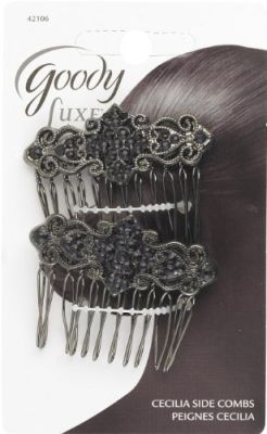 Side Comb Jewel Fash 2Ct