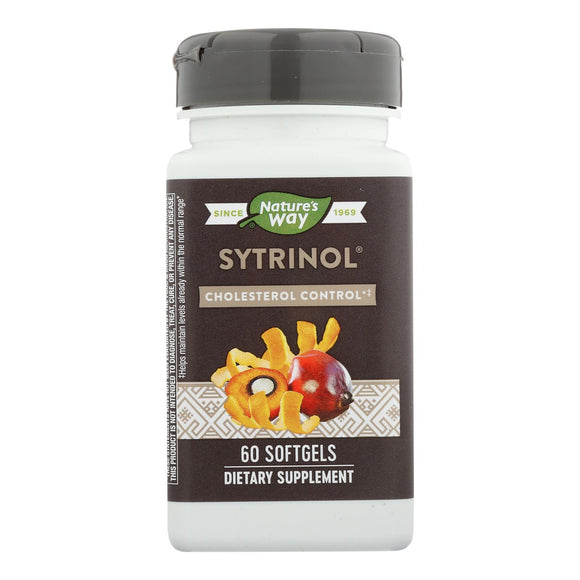 Nature's Way Sytrinol Cholesterol Control - 60 Softgels