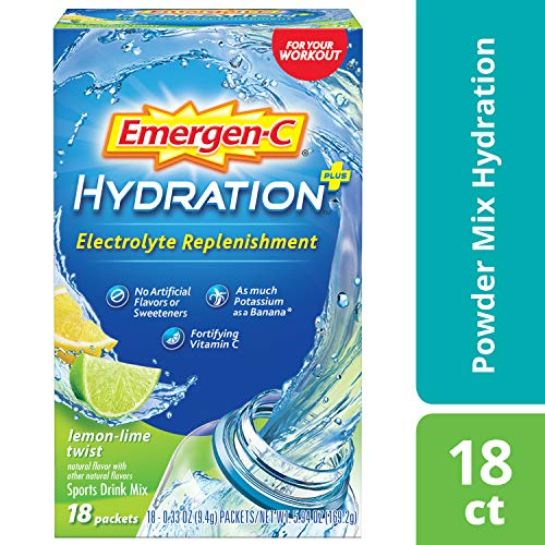 Emergen-C Electrolyte Replenishment Sports Drink Mix - 1 Each - 18 Pkt
