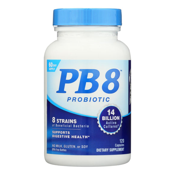 Nutrition Now PB 8 Pro-Biotic Acidophilus For Life - 120 Capsules