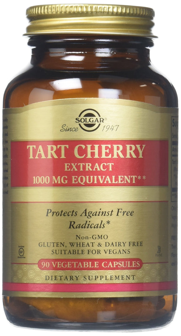 Solgar Tart Cherry 1000 Mg Vegetable Capsules