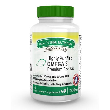 Health Thru Nutrition - HP Omega-3 Premium 1000mg - 60 Softgels