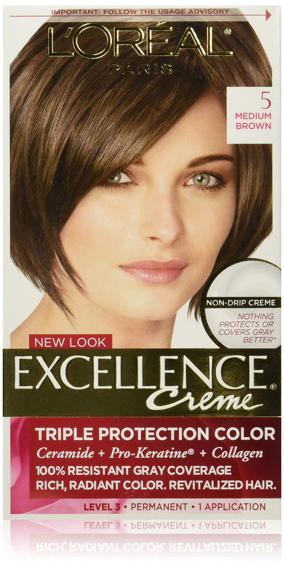 Excellence Creme Med Brown #5