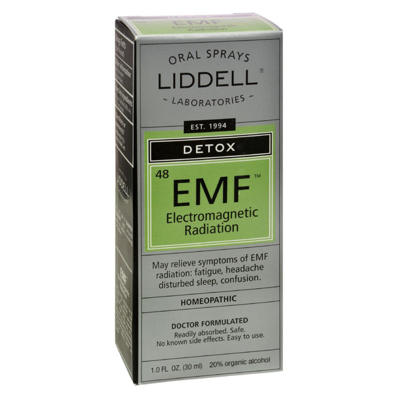 Liddell Homeopathic Anti-Tox EleCenteromagnetic EMF Radiation - 1 fl oz