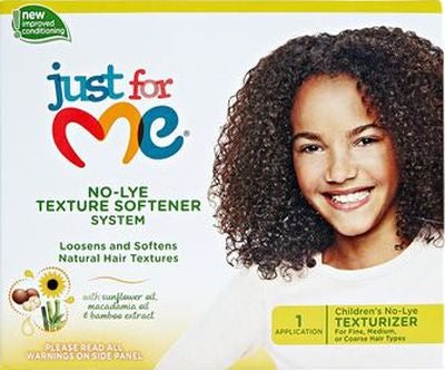 Just For Me Texture Softener No Lye System Fine Medium Or Coarse Hair