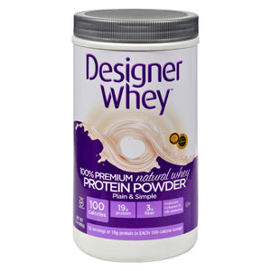 Designer Whey Protein Powder Natural - 2 lbs
