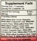 Dr. Christopher's Blood Stream Formula - 440 mg - 100 Vegetarian Capsules