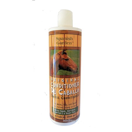 Spanish Garden Original Horse Conditioner Caballo 16 Fl Oz