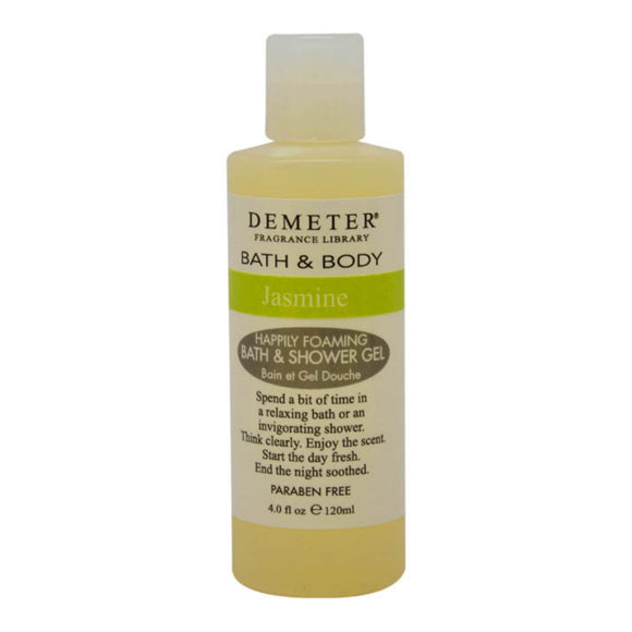 Jasmine by Demeter for Women - 4 oz Bath & Shower Gel