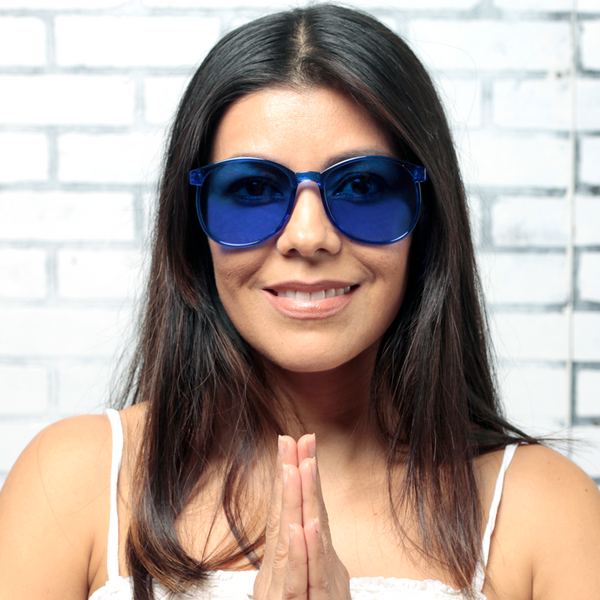 BLUE: THROAT CHAKRA - ZEN30 Chakra Glasses Color Therapy Glasses