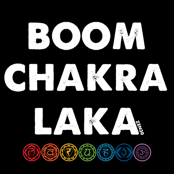BOOM-CHAKRA-LAKA | LADIES TEE - ZEN30 Chakra Glasses Color Therapy Glasses