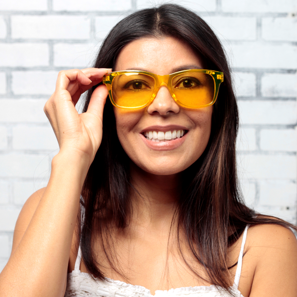YELLOW: SOLAR PLEXUS CHAKRA - ZEN30 Chakra Glasses Color Therapy Glasses