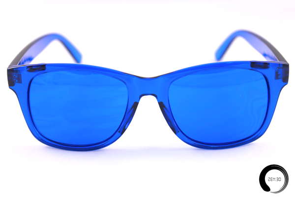 Blue = Self-Expression - ZEN30 Chakra Glasses Color Therapy Glasses