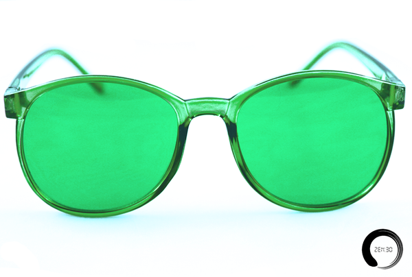 Green = Feelings - ZEN30 Chakra Glasses Color Therapy Glasses