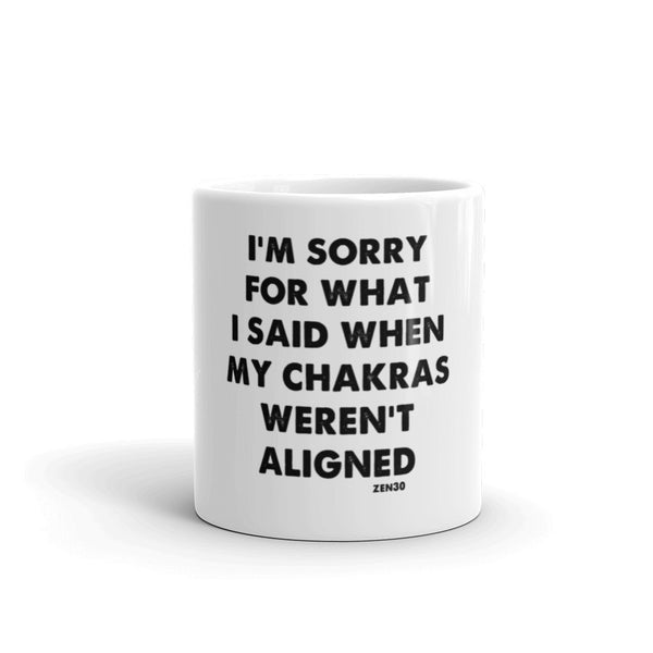 Chakra Sorry Mug - Limited Edition
