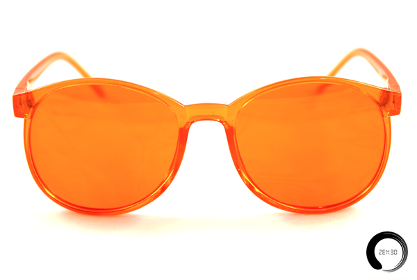 Orange = Optimism - ZEN30 Chakra Glasses Color Therapy Glasses