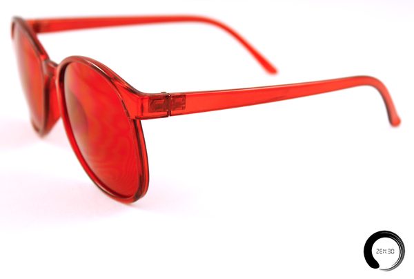 Red = Rooted - ZEN30 Chakra Glasses Color Therapy Glasses
