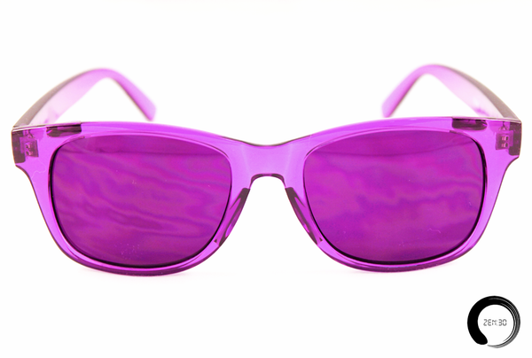Violet = Intuition - ZEN30 Chakra Glasses Color Therapy Glasses