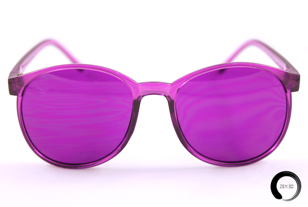 VIOLET: CROWN CHAKRA - ZEN30 Chakra Glasses Color Therapy Glasses