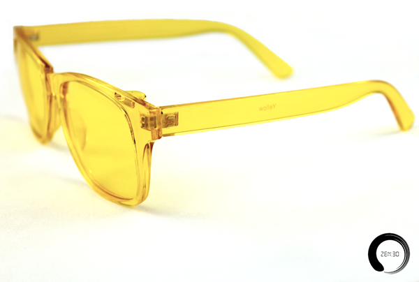 Yellow = Happy - ZEN30 Chakra Glasses Color Therapy Glasses