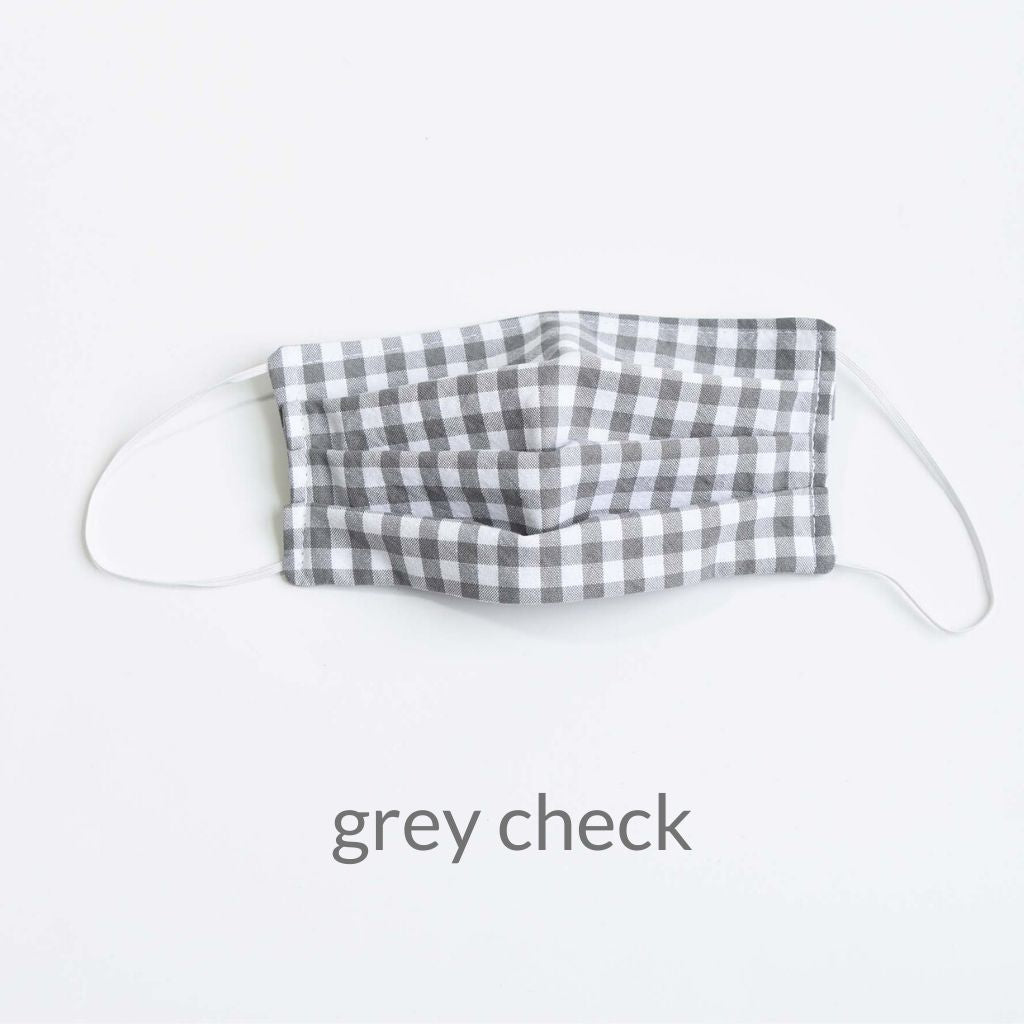 Cloth Face Mask with Filter Pocket | Adult w/ toggles