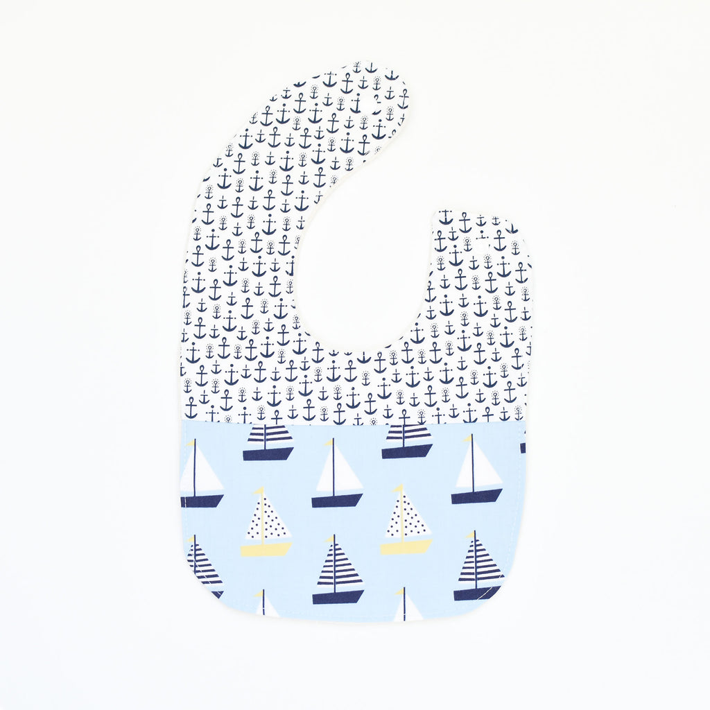 B I B S | Sailboat in Blue