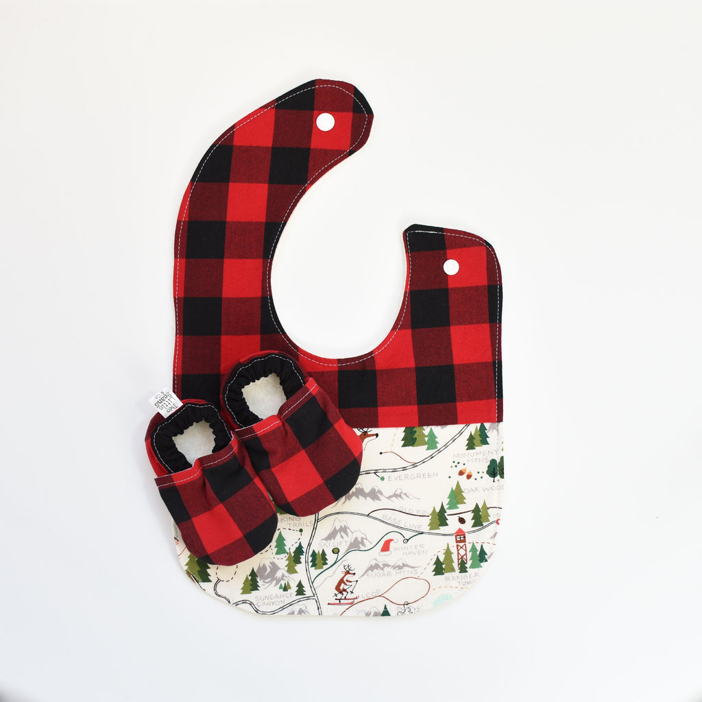 B I B S | Buffalo Plaid
