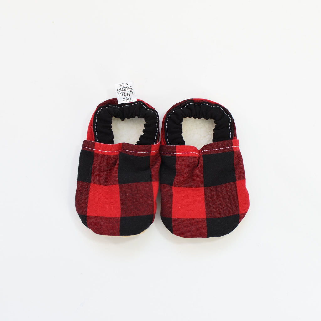 G I F T S E T S | Bib & Booties | Buffalo Plaid