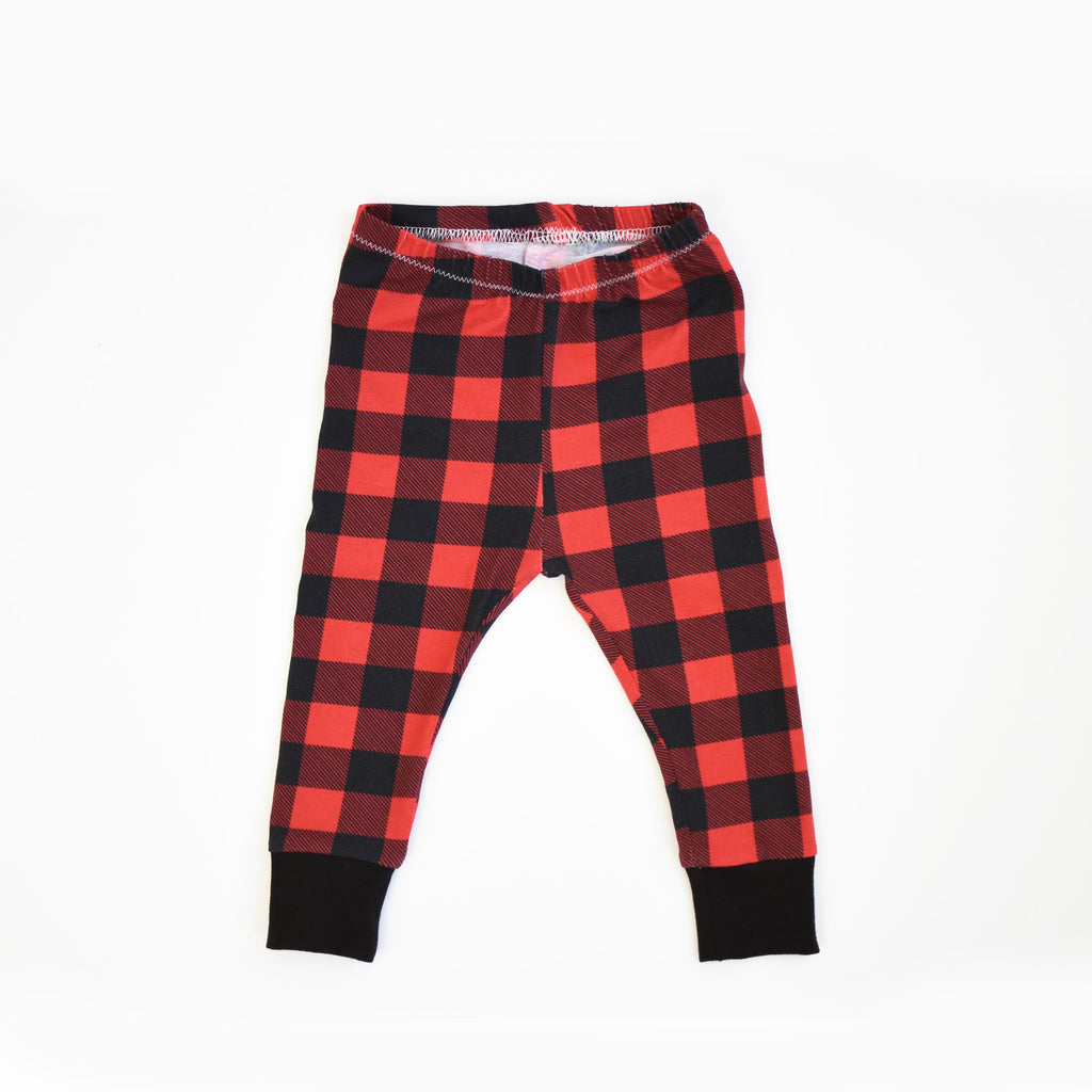 L E G G I N G S | Buffalo Plaid