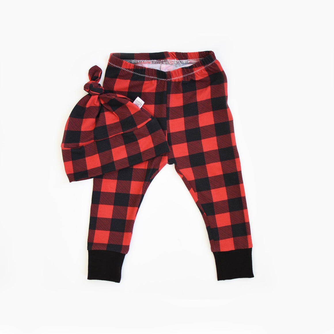G I F T S E T S | Beanie & Leggings | Buffalo Plaid