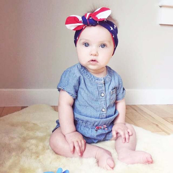 T O P K N O T | Headbands | Stars & Stripes