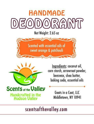 All Natural Deodorant - Goats in a Coat