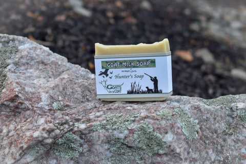 Hunter Goat Milk Soap - Goats in a Coat
