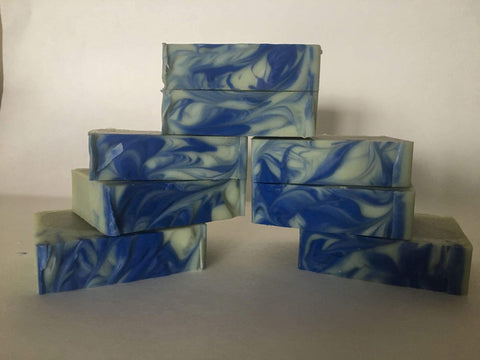 Stormy Night Goat Milk Soap - Goats in a Coat