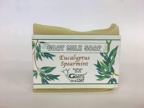 Eucalyptus Spearmint Goat Milk Soap - Goats in a Coat