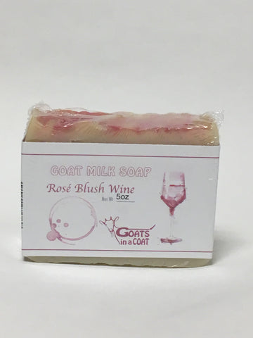 Red Blush Wine Goat Milk Soap