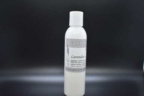 Lavender Essential Oil Goat Milk Lotion