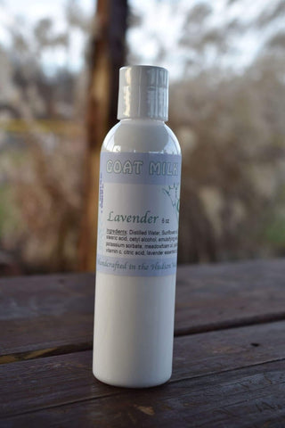 Lavender Essential Oil Goat Milk Lotion - Goats in a Coat