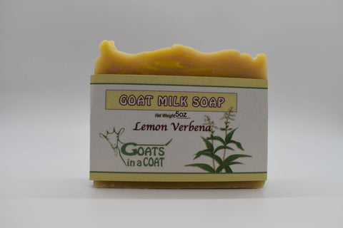 Lemon Verbena Goat Milk Soap 5oz