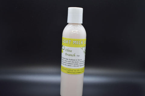 Olive Branch Goat Milk Lotion