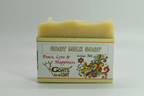 Peace, Love and Happiness Goat Milk Soap