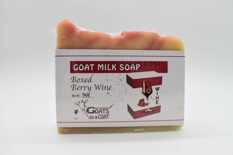 Boxed Berry Wine Soap