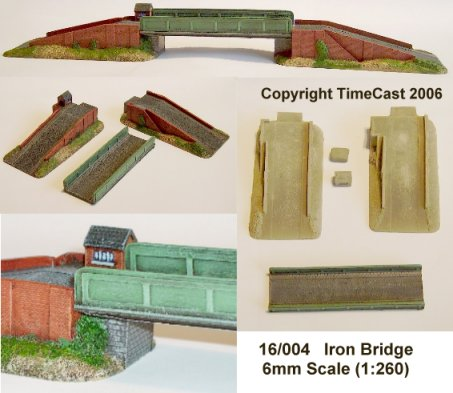 16/004 6mm Scale Steel Girder Bridge