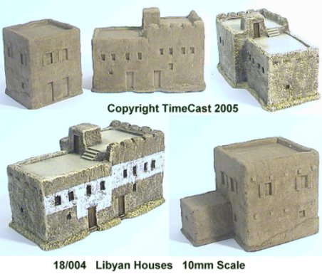 18/004 Two-story Libyan Mud-brick Village/Townhouses
